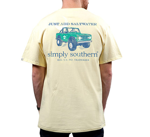 Simply Southern Youth Boys Saltwater Short Sleeve