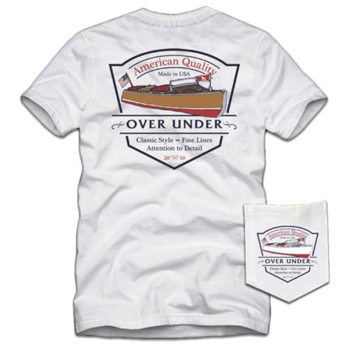 Over Under Clothing Classic Craft Short Sleeve Pocket T-shirt