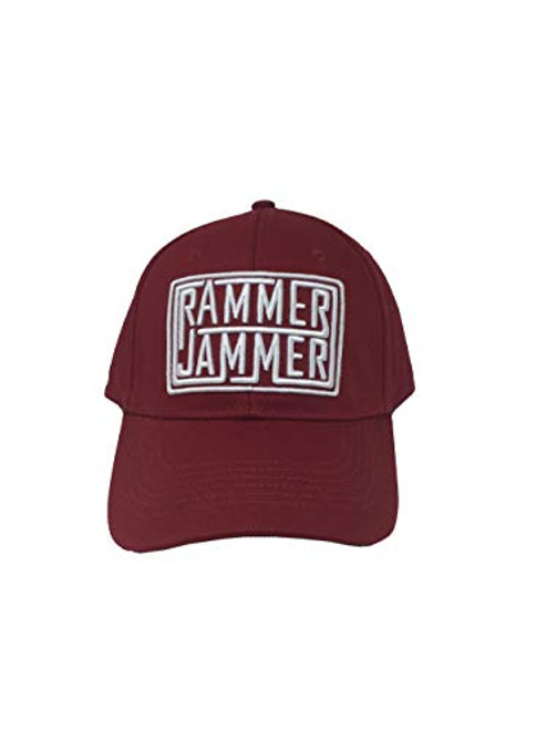 Campus Collection Ram Jam Lines Hat Crimson