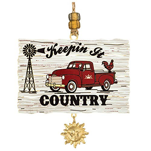 Beacon Design Keepin' It Country Handcrafted Ornament