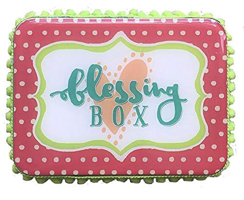 Heart On Your Sleeve Polka Dot Blessing Box
