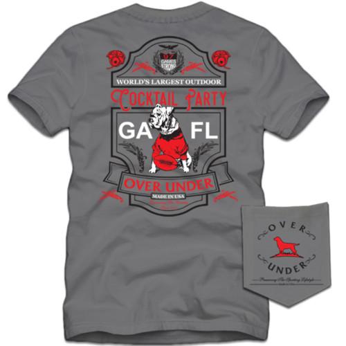 Over Under Clothing Ga vs Fl Short Sleeve T-Shirt