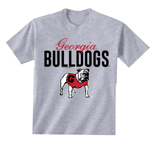 New World Graphics UGA Georgia Script Short Sleeve T-shirt