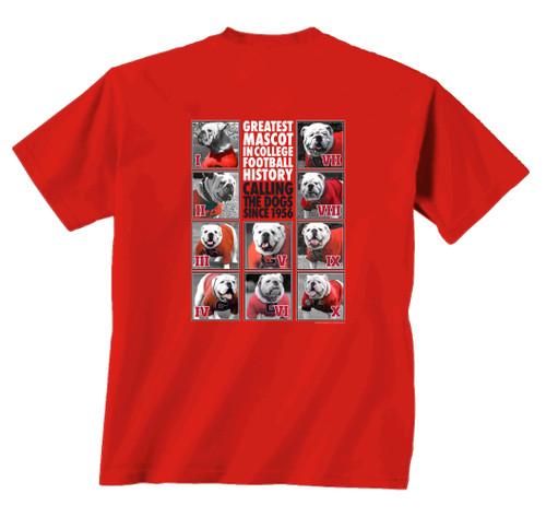 New World Graphics UGA Mascot One to Ten Short Sleeve T-shirt