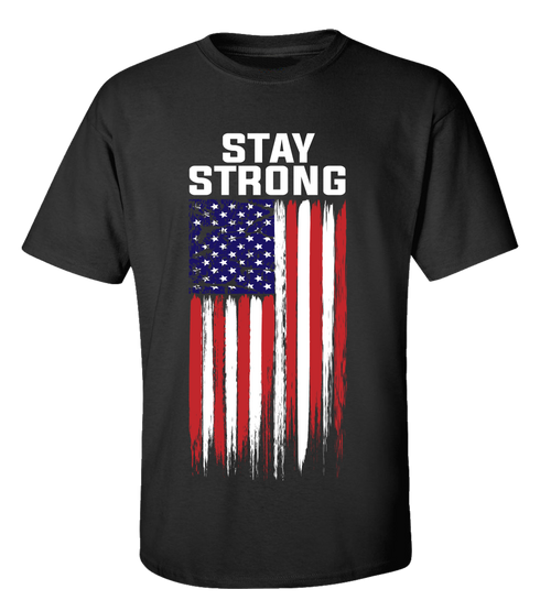 We Got This American Flag Short Sleeve Adult Unisex T-shirt