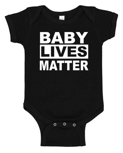 Baby Lives Matter Infant One Piece Bodysuit
