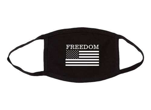 USA Made Freedom American Flag Cloth Face Covering Mask
