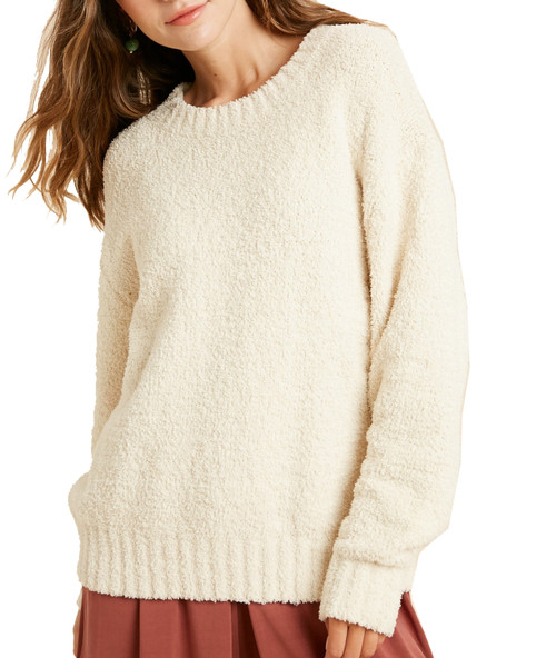 Wishlist Women's Teddybear Pullover Sweater