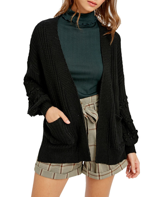 Wishlist Women's Chunky Open Front Cardigan