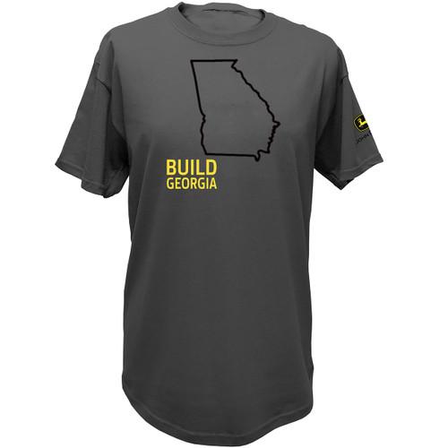 John Deere Build State Pride Short T-shirt