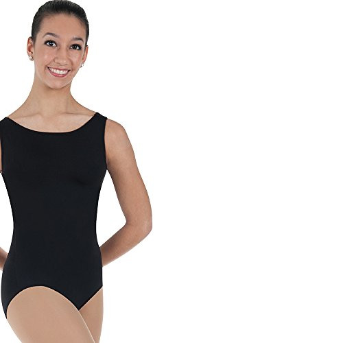 Body Wrappers BWP251 Womens Boatneck Leotard  Black