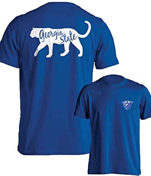 quality design 8c2ec 3d993 Southland Graphics Mens Georgia State University Panthers Short Sleeve  T-shirt