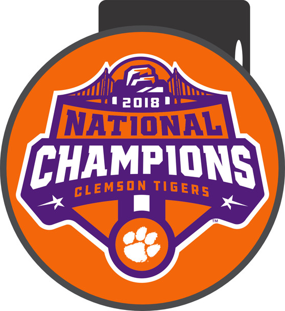 Clemson Tigers 2018 National Champions Hitch Cover