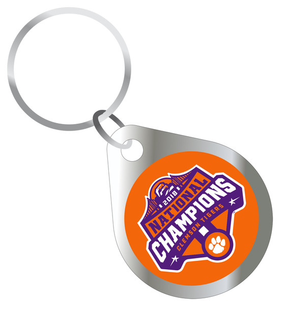 Clemson Tigers 2018 National Champions Keychain