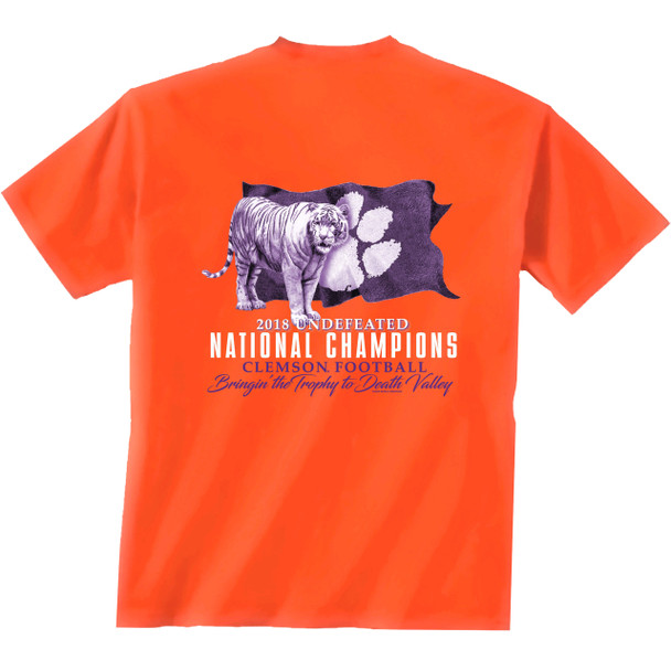NCAA Clemson Tigers 2018 National Champions Short Sleeve T-shirt