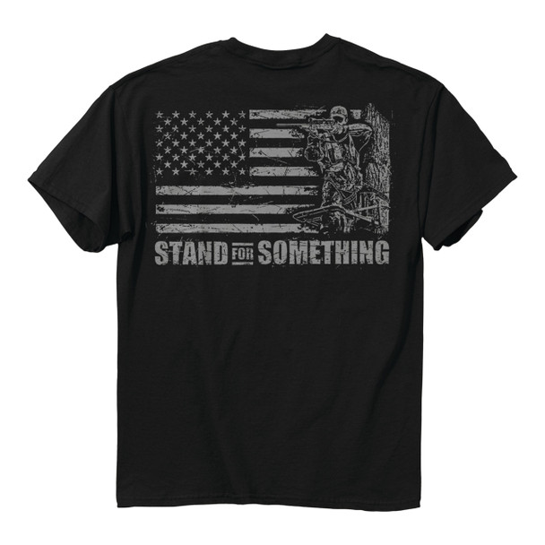 Buckwear Stand for Something Short Sleeve T-shirt