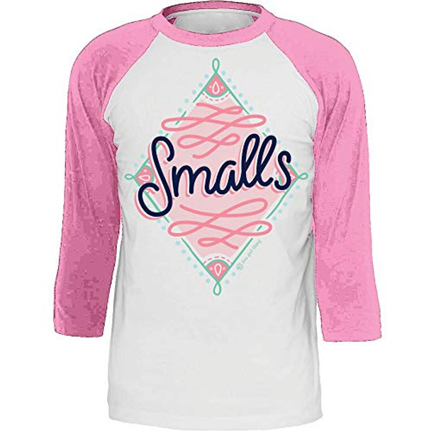 Itsa Girl Thing Youth Smalls 3/4 Sleeve Raglan T-shirt
