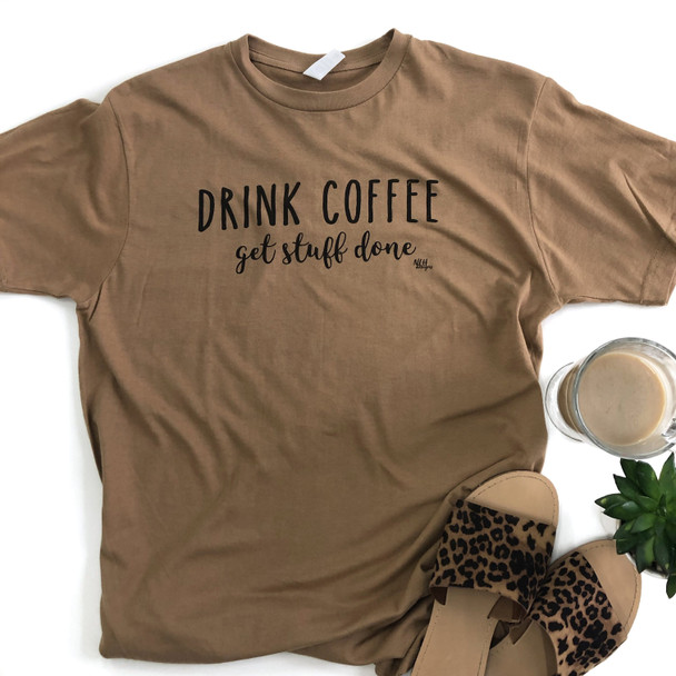 Never Lose Hope Designs Drink Coffee Short Sleeve T-shirt