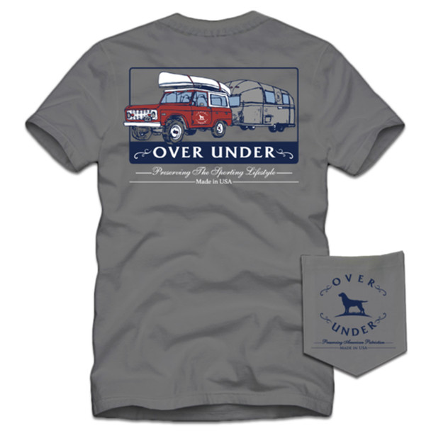Over Under Clothing On the Road Again Short Sleeve Pocket T-shirt