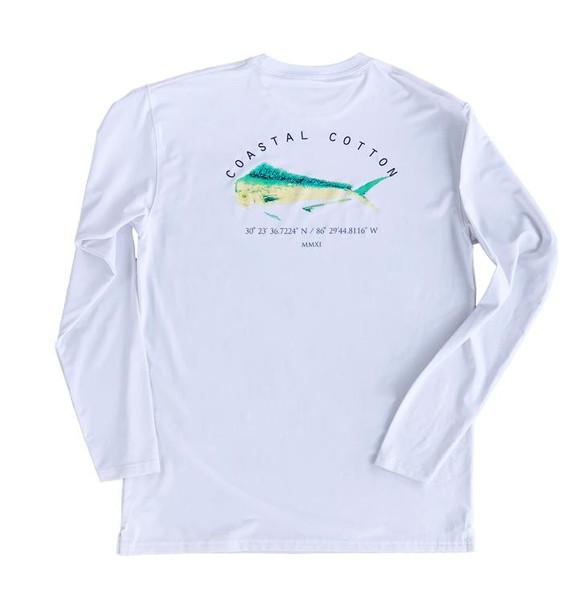 Coastal Cotton Clothing Sailfish Short Sleeve Pocket T-Shirt