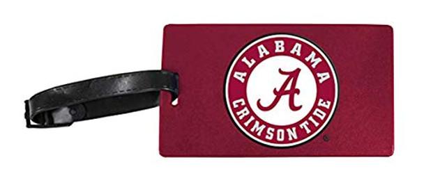 R and R Imports Alabama Crimson Tide Luggage Tag
