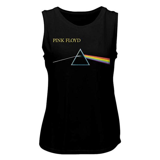 American Classics Pink Floyd DSOTM Simple Ladies Muscle Tank