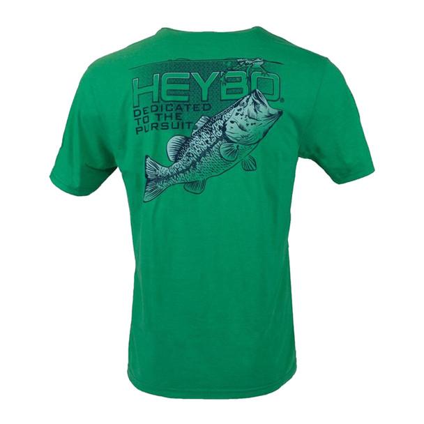 Heybo Outdoors Bass vs Frog II Short Sleeve T-shirt