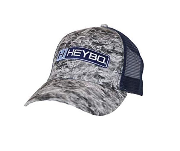 Heybo Outdoors Mossy Oak Spindrift Adjustable Mesh Back Trucker Hat