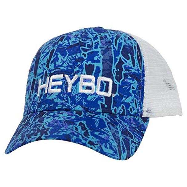 Heybo Outdoors Evterra Skinny Water Camo Adjustable Mesh Back Trucker Hat