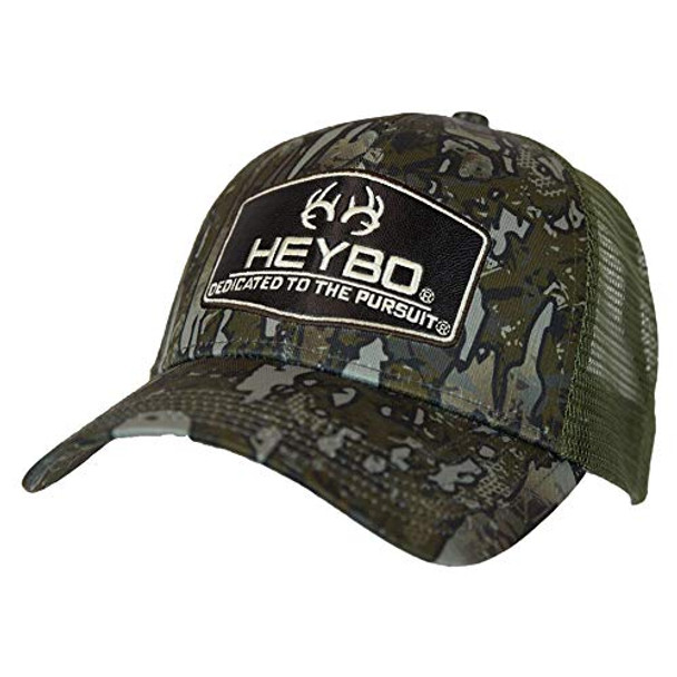 Heybo Outdoors Club Series-Deer Antler Evterra Standing Timber Adjustable Mesh Back Hat