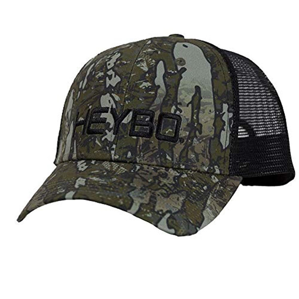 Heybo Outdoors Evterra Standing Timber Camo Adjustable Mesh Back Trucker Hat