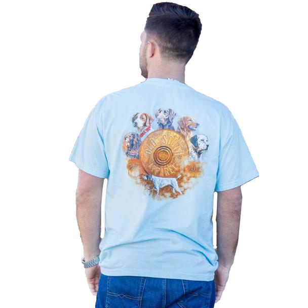 Old South Apparel Dog Collection Comfort Color Short Sleeve Pocket T-shirt