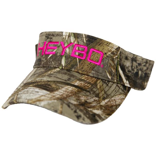 Heybo Ladies Realtree Max 5 Visor-Pink