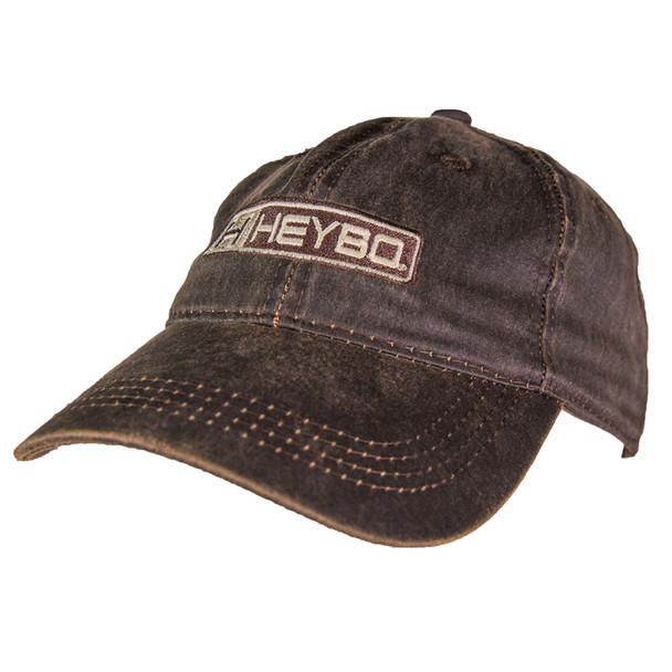 Hey Pro Bar Logo Waxed Canvas Hat-Brown
