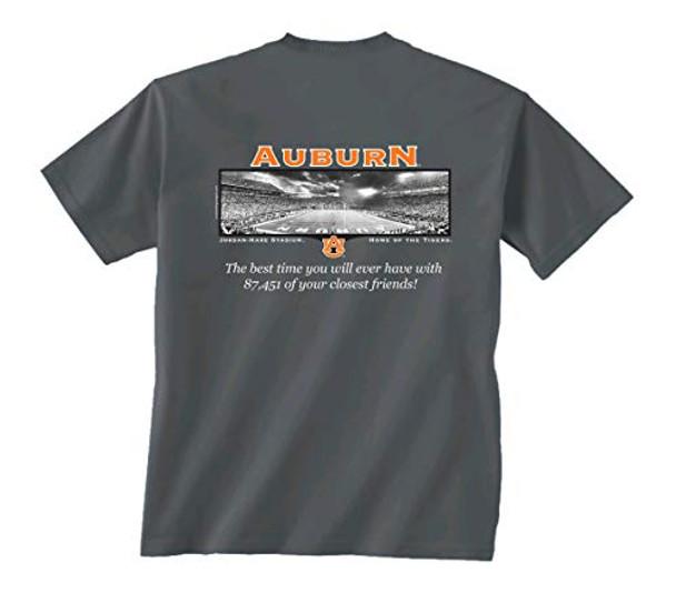 New World Graphics Auburn Friends Stadium Short Sleeve T-shirt