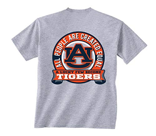 New World Graphics Auburn Tigers Equal Short Sleeve T-shirt