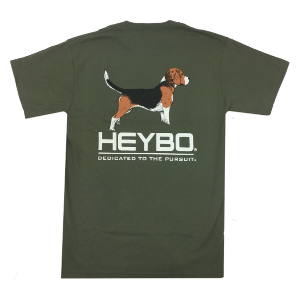 Heybo Outdoors Beagle Short Sleeve T-shirt