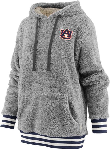 Pressbox Women's NCAA Auburn Tigers Kandi Long Sleeve Shaggy Hooded Pullover