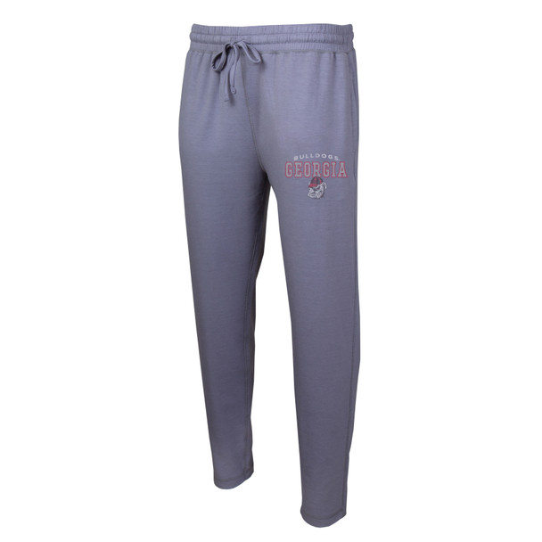 College Concepts NCAA Georgia Bulldogs Men's Fuel Knit Tapered Pant