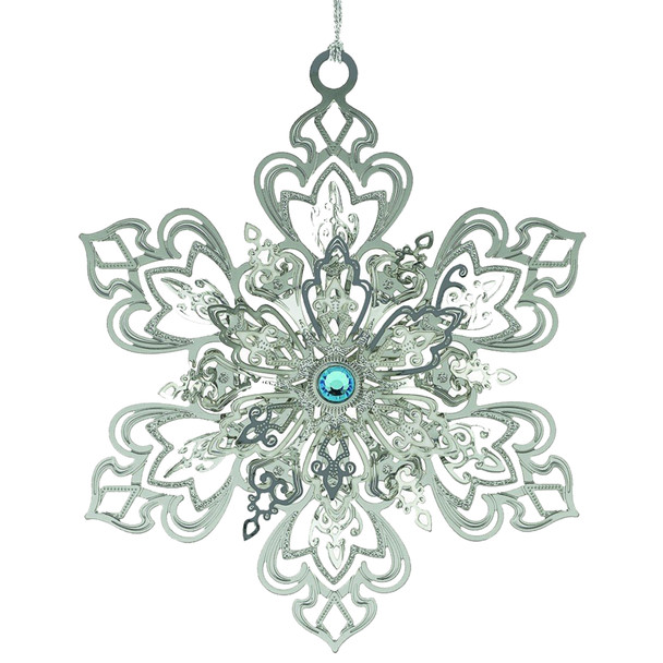 Beacon Design Radiant Snowflake Ornament by ChemArt