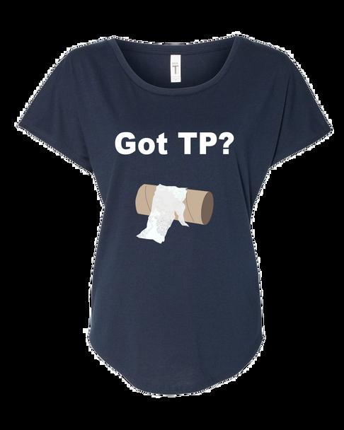 Women's Funny Got TP? Toilet Paper Shortage 2020 Dolman Top