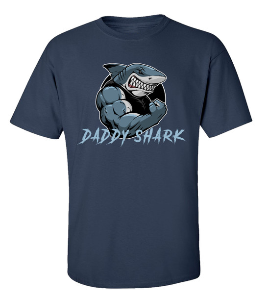 Funny Father's Day Daddy Shark T-Shirt
