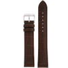 Extra Long Watch Band in Brown - Top View