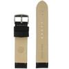 Long Watch Band in Black Carbon Fiber Print - Bottom View - Main