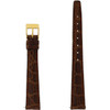 Gucci Watch Strap 14mm Tan Genuine Leather 2600L - Main Front