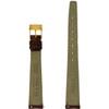 Gucci Watch Strap 14mm Tan Genuine Leather 2600L - Main
