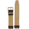 19mm Watch Band in Brown - Bottom View