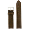 Dark Brown Watch Band by Tech Swiss - Top View