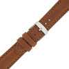 Leather Waterproof Sports Watch Band in Brown - Main