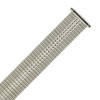 Watch Band Expansion Metal Stretch Silver Color Thin Line fits 17-21mm -TSMET175